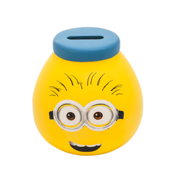 MINIONS HAND DECORATED POT OF DREAMS MONEY JAR IN IN GIFT WRAP