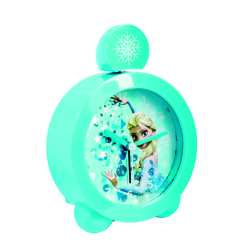 FROZEN TOPPER ALARM CLOCK WITH SOUND AND LIGHT