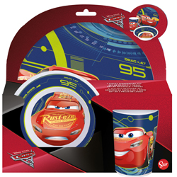 CARS 3 MELAMINSET