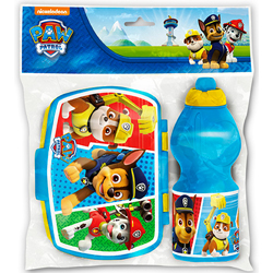 PAW PATROL SET: LUNCHBOX AND SPORTBOTTLE