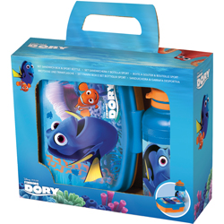 FINDING DORY LUNCH BOX AND SPORT BOTTLE SET IN GIFT WRAP