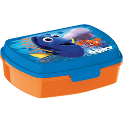 FINDING DORY LUNCH BOX, 18 CM LENGTH X 15 CM WIDTH X 8 CM HEIGHT