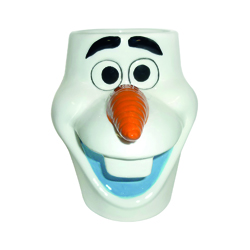 OLAF 3D CERAMIC MUG IN GIFT BOX 20,5X11,5X14 CM