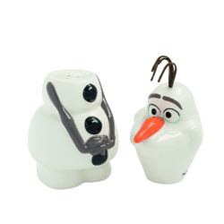 DISNEY FROZEN OLAF SALT AND PEPPER
