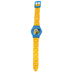 DM3 MINIONS ANALOGUE WATCH IN BLISTER 8X3X27 CM
