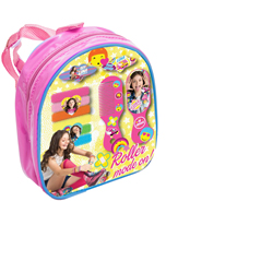 DISNEY SOY LUNA BACKPACK WITH ASSORTED HAIR ACCESSORIES