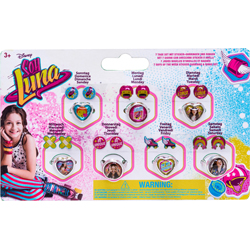 SOY LUNA SEVEN DAY RING & EARRING SET