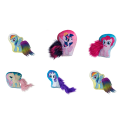 MY LITTLE PONY BODY SHAPED CUSHIONS 30 cm - 12 PCS ASSORTED