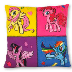 MY LITTLE PONY KISSEN QUADRATI