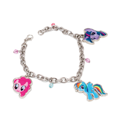 MY LITTLE PONY CHARM BRACELET IN BOX