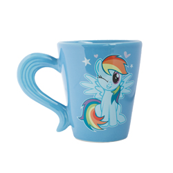 MLP CERAMIC MUG WITH TAIL SHAPED HANDLE IN GIFT BOX