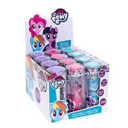 JOY TOY MY LITTLE PONY LED GLITTER LAMP IN A COUNTER DISPLAY.