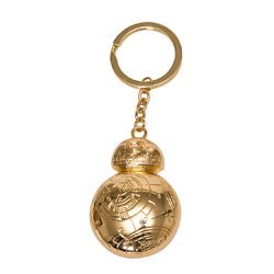 BB-8 GOLDEN KEYCHAIN