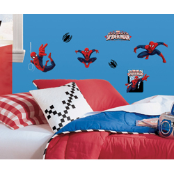 SPIDERMAN PEEL AND STICK WALL DECAL IN BLISTER PACK