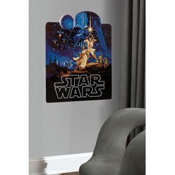 STAR WARS CLASSIC GIANT WALL DECAL IN TUBE PACK
