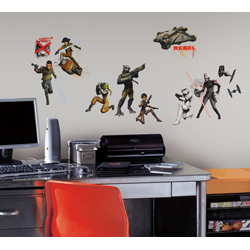 STAR WARS REBELS GLOW-IN-THE-DARK WALL DECAL IN BLISTER PACK