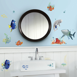 FINDING DORY WALL DECAL 4 SHEETS IN BLISTER PACK
